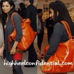 sabina-singh-balenciaga-orange-bag