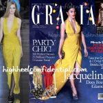 Jacqueline Fernandez On Grazia: (Un)Covered