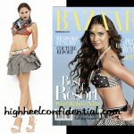 Lara in Harper's Bazaar: Decoded