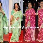 sharmila tagore-cannes up premiere-jaya bachchan-star screen awards-2010