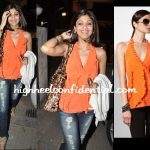 shilpa-shetty-chance-dance-screening-bcbg-orange