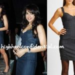 sameera-reddy-shamita-shetty-birthday-mango-denim-dress
