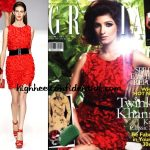 twinkle-khanna-grazia-feb-blugirl-red-dress
