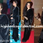 rekha-anil-ambani-success-bash-velvet-sari