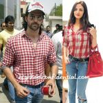 hrithik-roshan-sussanne-red-check-shirts