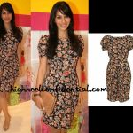 sophie-chaudhary-hamleys-topshop-floral-dress