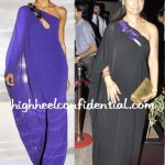 surily-goel-gucci-gown-laila-khan-wedding-reception