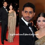 At Cannes: In Sabyasachi