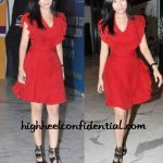 amrita-rao-ihls-screening-red-dress
