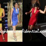 mandira-bedi-van-heusen-three-same-dresses
