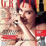 Asin on Grazia:(Un)Covered