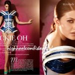 Jacqueline in Elle India: Decoded