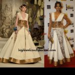 In Rohit Bal Couture