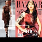 Ileana on Harper's Bazaar: (Un)Covered