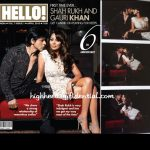 Shah Rukh and Gauri on Hello!: (Un)Covered