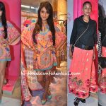 Sonal Chauhan And Carol Gracias At Indian By Manish Arora Launch