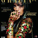 Freida on Grazia: (Un)Covered