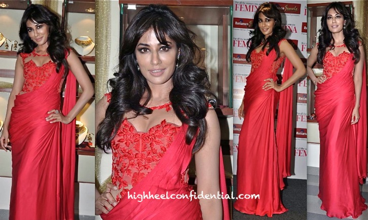 Chitrangda Singh At Femina Bridal Issue Launch:Cover Unveiling In Sonaakshi Raaj-2
