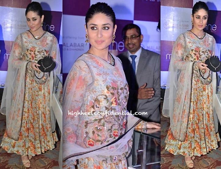 Kareena Kapoor In Anamika Khanna At 'Malabar Gold and Diamonds' Press Meet-2