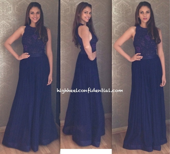 Aditi Rao Hydari In Anita Dongre At An Art Exhibition And In Nupur Kanoi At A Store Launch-2