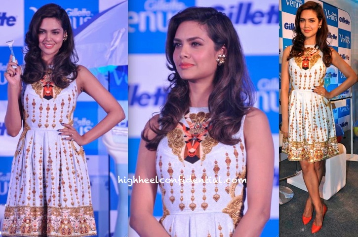 Esha Gupta In Manish Arora At Gillette Event-1