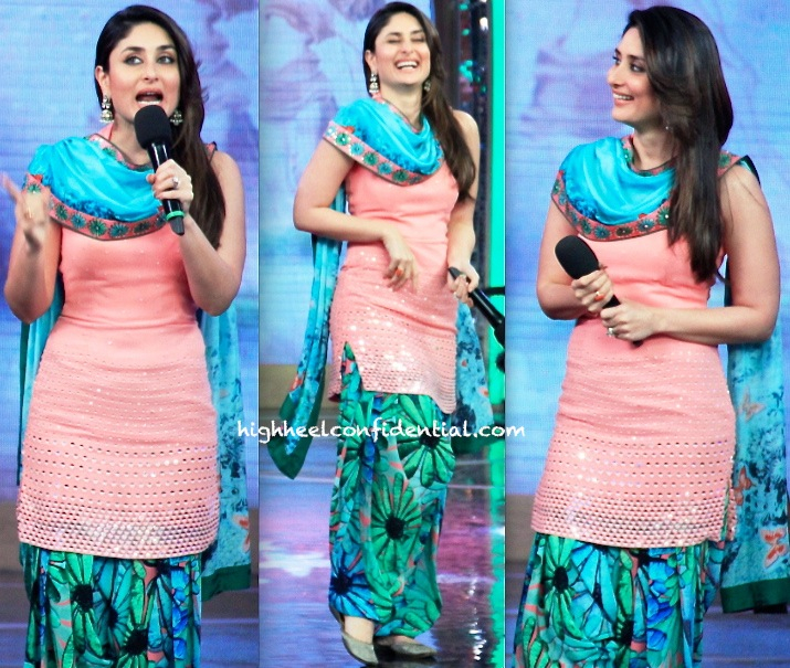 Karisma Kapoor (Wearing Nishka Lulla) Promotes GTPM On Bigg Boss Sets-2