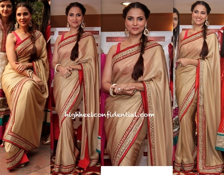 Lara Dutta At AN Event In Delhi To Promote Lara Dutta For Chhabra 555 Collection