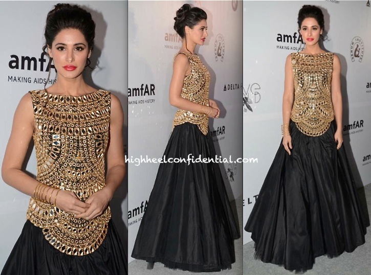 Nargis Fakhri At The amfAR India Gala-1