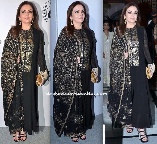 Nita Ambani At amfAR India Gala