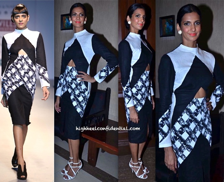 Poorna Jagannathan In Shivan Narresh At PETA Fundraiser-1