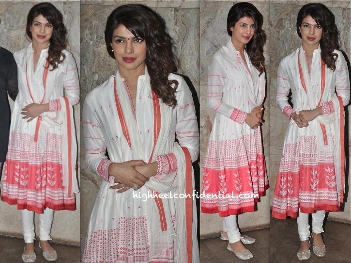 Priyanka Chopra In AM-PM By Ankur And Priyanka Modi At Ram Leela Screening-1