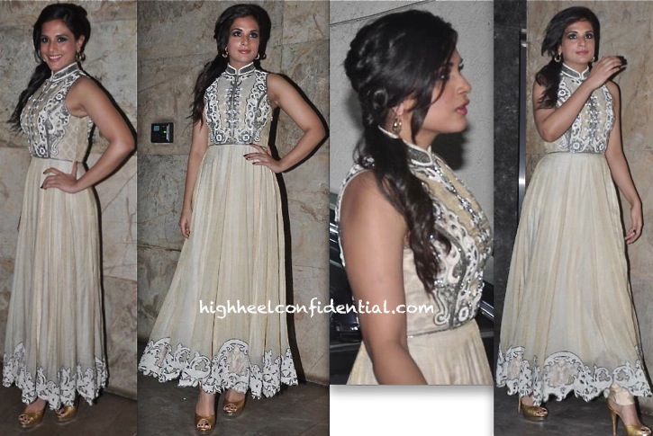 Richa Chadda In Pankaj And Nidhi At 'Ram Leela' Screening-2