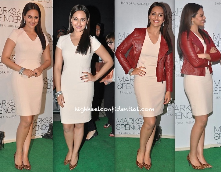 Sonakshi Sinha At Marks And Spencer Store Launch-1