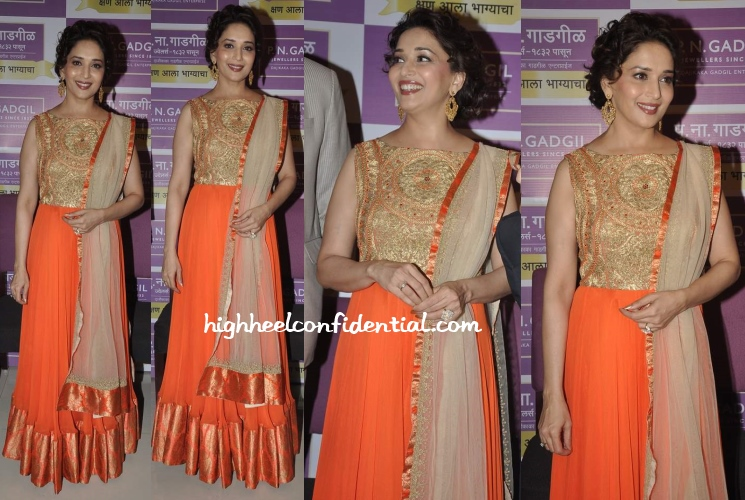 madhuri-dixit-PN-Gadgil-showroom-launch