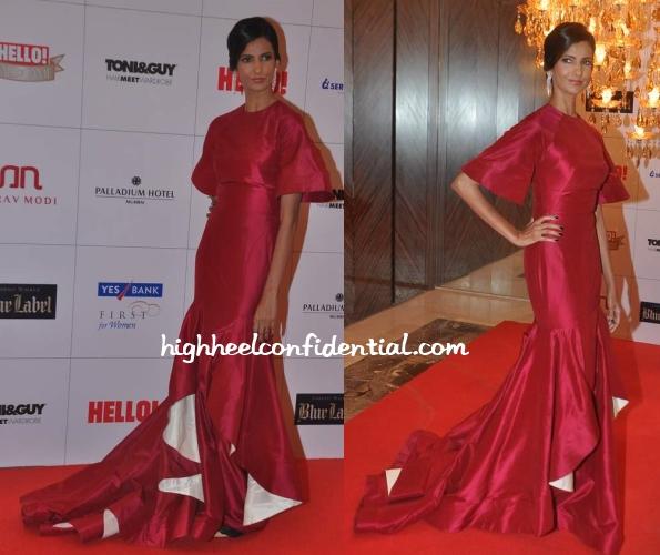 poorna-jagannathan-gauri-nainika-hello-hall-fame-awards-2013