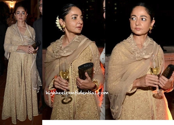 sabina chopra at catalunya event in sabyasachi