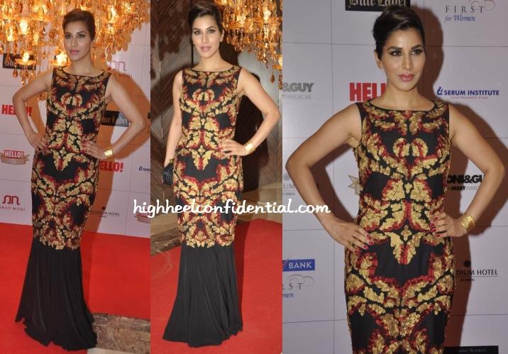 sophie-choudry-shantanu-nikhil-hello-hall-fame-awards-2013