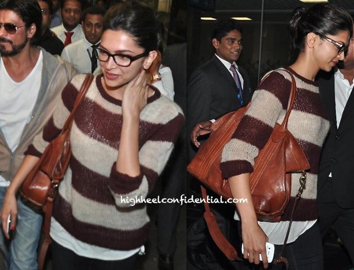 Deepika Padukone Photographed At Mumbai Airport returning from dubai-2