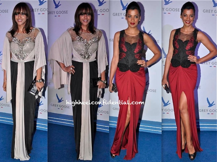 In Amit Aggarwal- Manasi Scott And Mugdha Godse At Grey Goose Style Du Jour Event