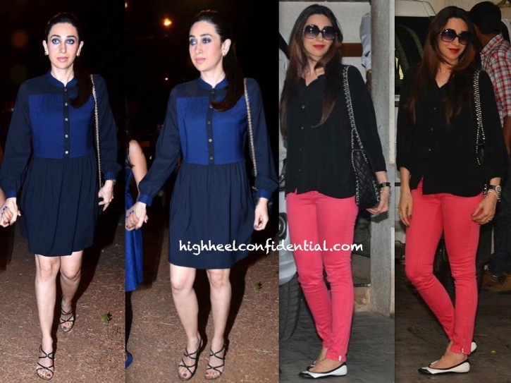 Karisma Kapoor At Midnight Mass And At The Kapoor Brunch-1