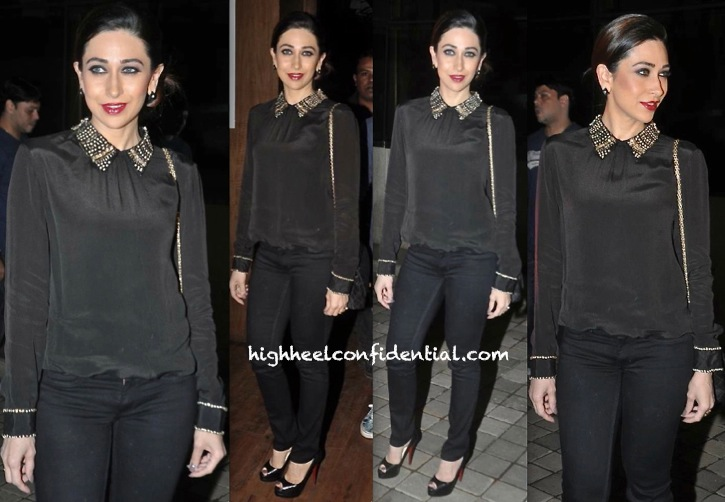 Karisma Kapoor In Namrata Joshipura At 'Karle Pyaar Karle' Music Launch