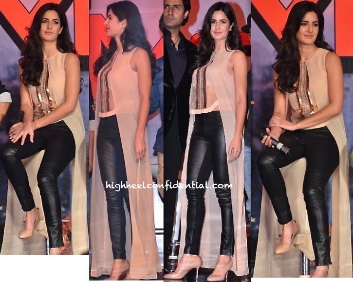 Katrina Kaif In Rohit Gandhi And Rahul Khanna At 'Dhoom 3' Press Meet-1