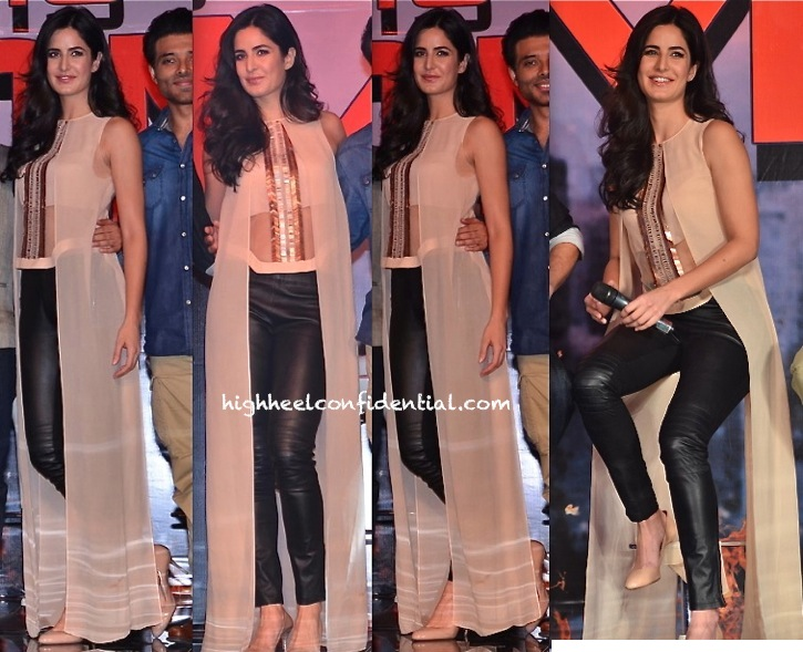 Katrina Kaif In Rohit Gandhi And Rahul Khanna At 'Dhoom 3' Press Meet-2