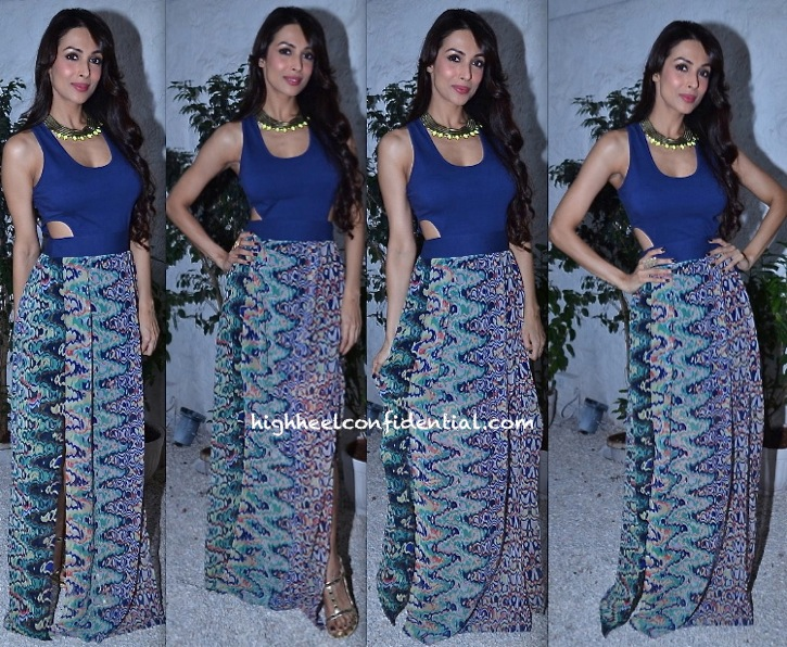 Malaika Arora Khan At The Closet Label Collection Preview