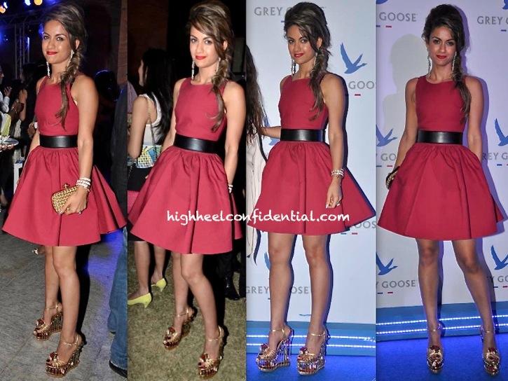 Natasha Poonawala In Azzedine Alaïa At Grey Goose Style Du Jour Event-1