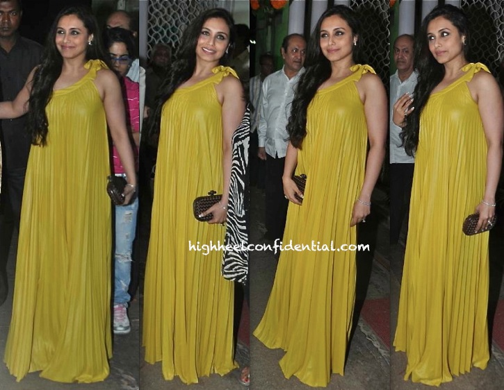 Rani Mukherjee In BCBG At Dilip Kumar's Birthday Celebrations-2