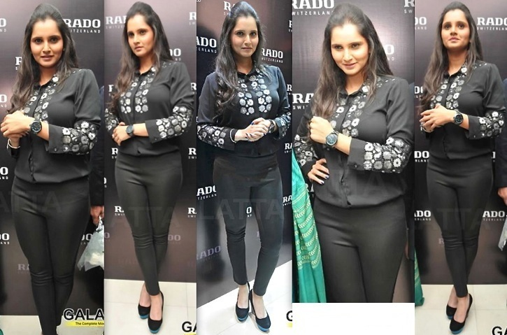 Sania Mirza In Namrata Joshipura At Rado Collection Launch, Chennai