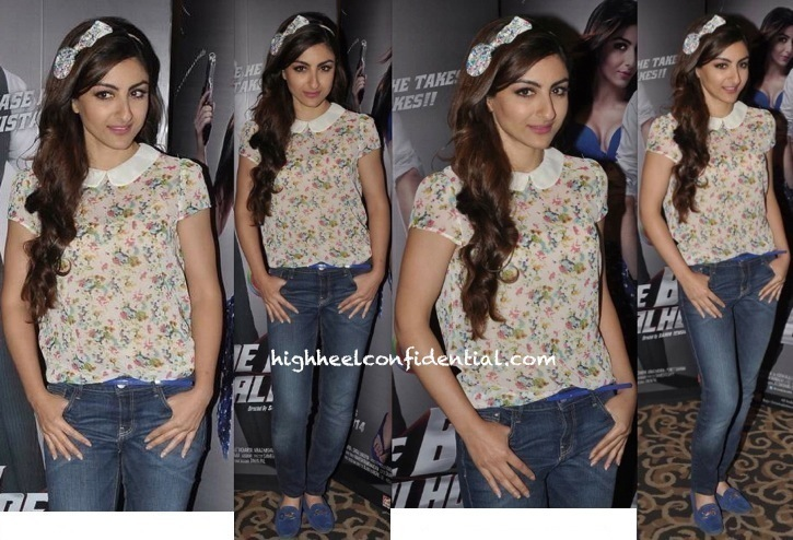 Soha Ali Khan In Zara At 'Mr Joe B