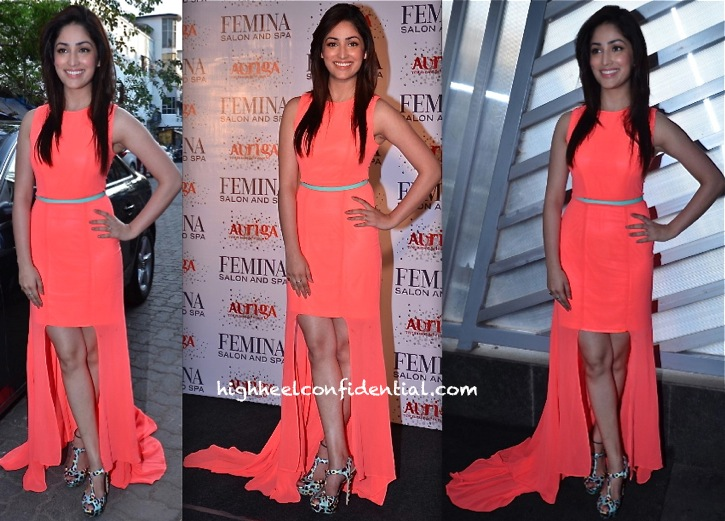 Yaami Gautam In ASOS At Femina Salon & Spa Magazine Launch