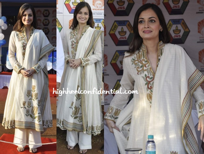 dia-mirza-jamnabhai-school-sports-meet